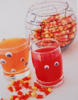 recycle upcycle eyeball glass at your party