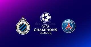 Club Brugge vs PSG Live