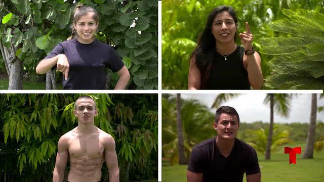 cuatro atletas se integran a exatlon 4 nueva era