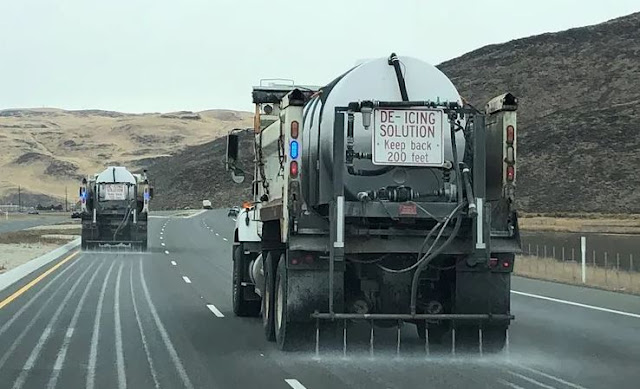 road brine anti-icing solutions melt snow roadways safety