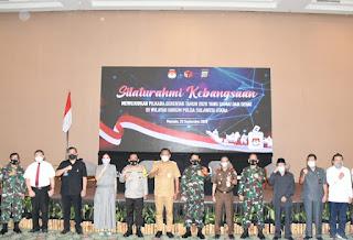 Danlantamal VIII Dukung Pemilihan Gubernur Dan Wakil Gubernur Sulut Secara Damai Dan Sehat