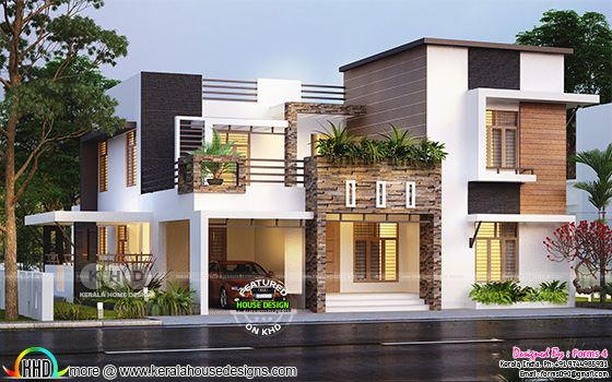 2018 - Kerala home design and floor plans