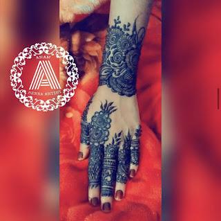 Khafif Henna Mehndi Designs