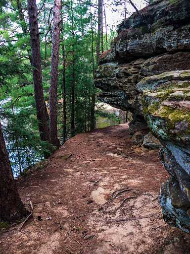 Echo Rock Trail at Mirror Lake State Park