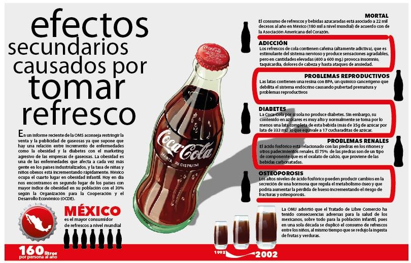 beber refrescos causa diabetes