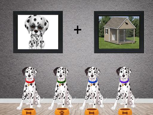 8bGames Dalmatian House E…
