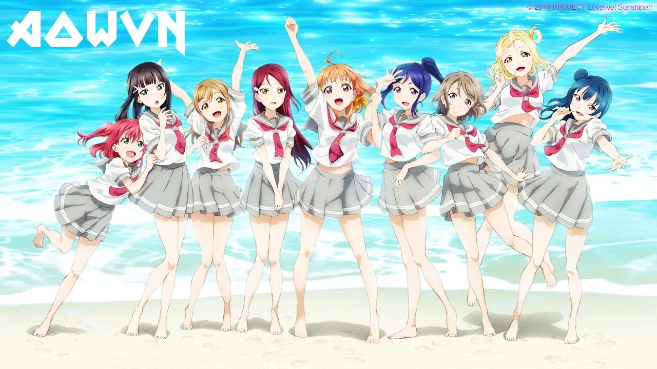 Blog Feature LLSUNSHINE3 - [ Anime 3gp Mp4 ] Love Live! Sunshine!! SS1 | Vietsub – Rất Hay