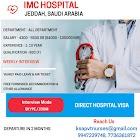 STAFF NURSES TO IMC HOSPITAL JEDDAH, SAUDI ARABIA