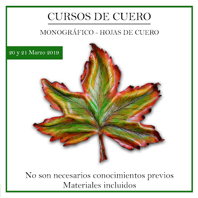 Curso hojas de cuero