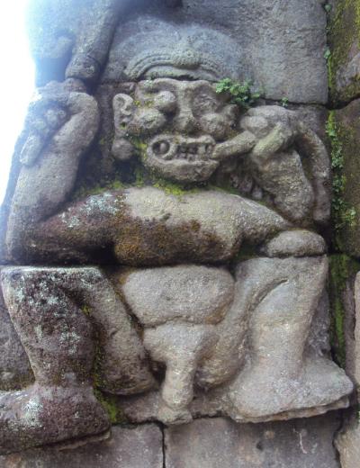 Candi Sukuh peninggalan sejarah di kota karangayar