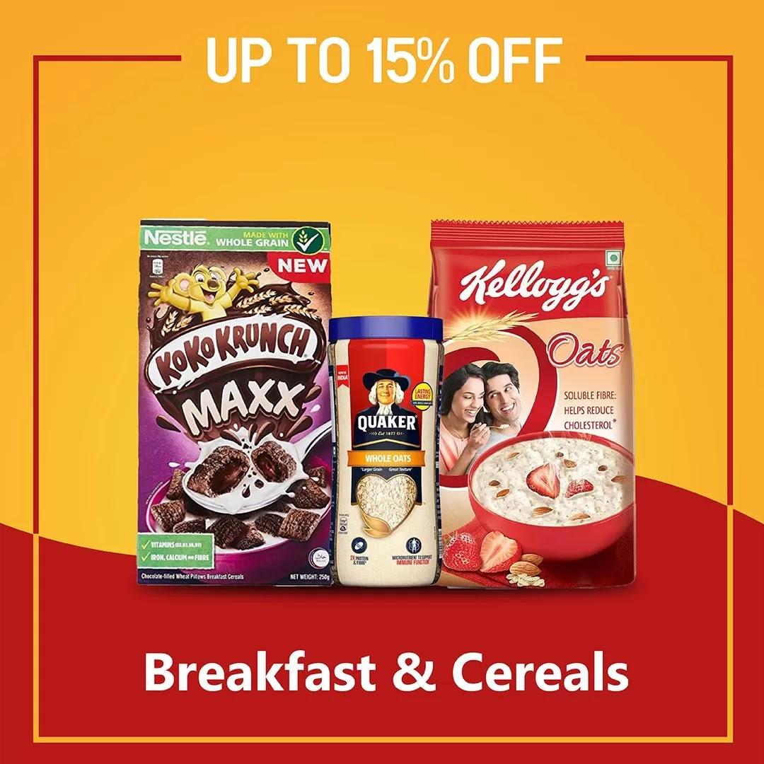 Breakfast Cereals 205