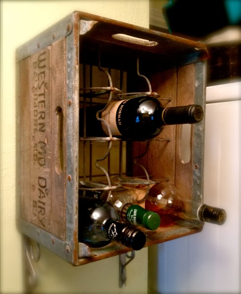 The Thompson Family Re Purposed An Old Soda Crate As An