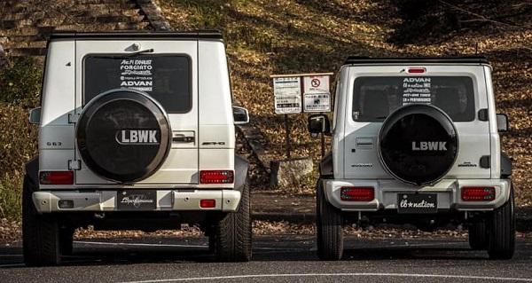 Nuevo Suzuki Jimny Liberty Walk Mini G