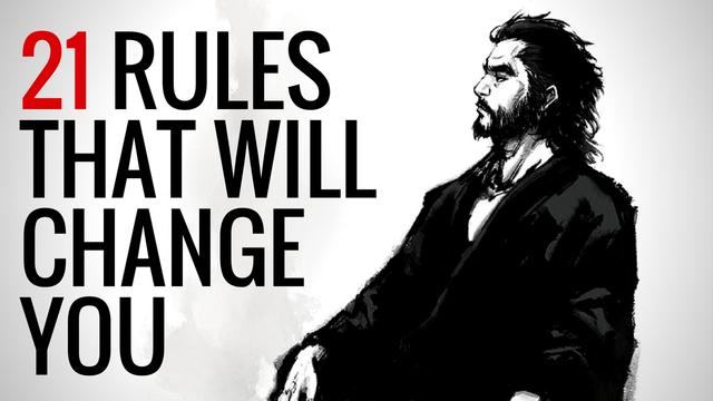 21-Rules of Life A Japanese Samurai Wrote Almost 400 Years Ago   That Will Change You