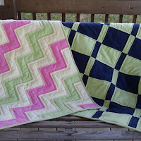 Flannel Quilts from Leftovers