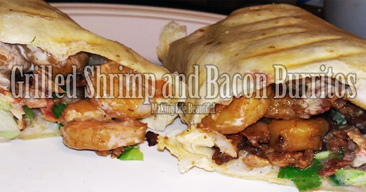 Restaurant Copycat: Rubio's Grilled Shrimp and Bacon Burrito (but better)