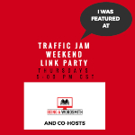 Scratch Made Food! & DIY Homemade Household featured at Traffic Jam Weekend Link Party!