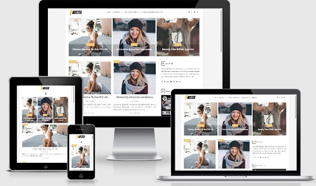 Fabster-Blogger-Template-free
