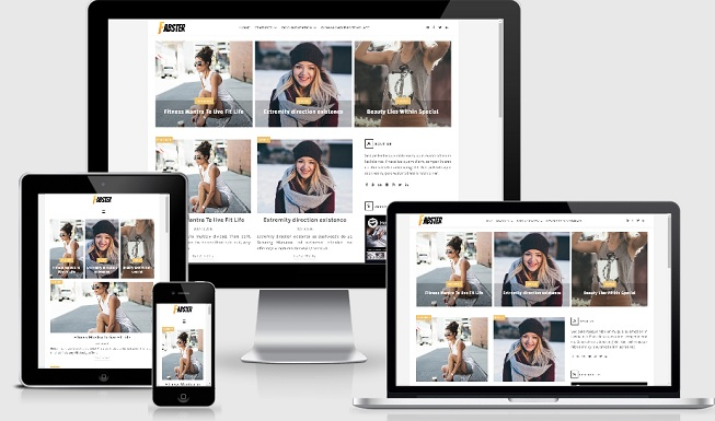 Fabster Blogger Template Download