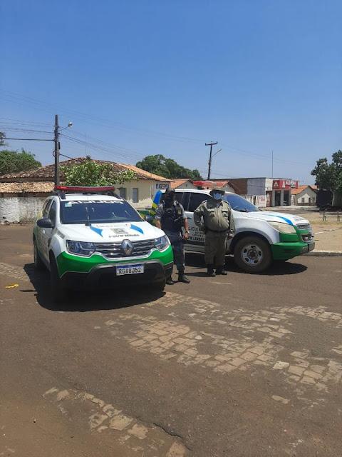 Policia Militar faz Blitz nas Cidades de Marcos Parente e Landri Sales