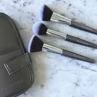 Platinum Beauty Makeup Brush & Sponge Collection