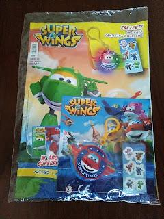 Super wings- czasopismo dla Twojego malca.