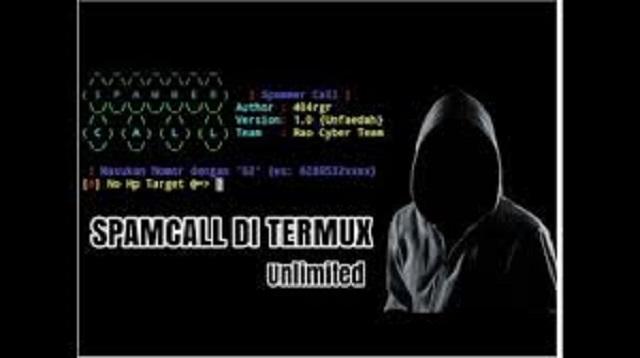 Script Spam Call Termux 2021 Work