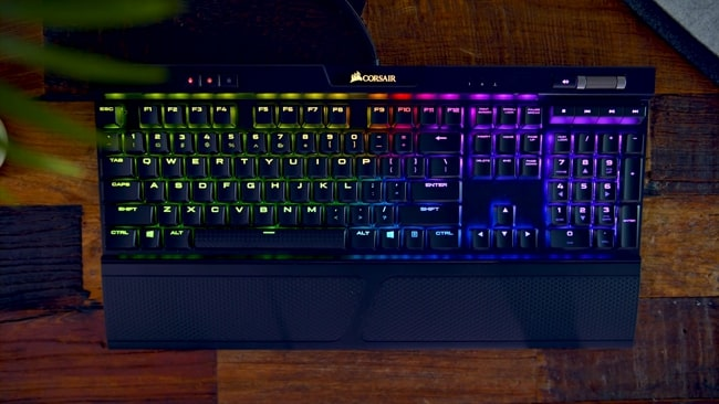 Corsair K70 MK.2 Low Profile Slim Mechanical Gaming Keyboard.