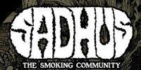 Sadhus, the smoking community logo