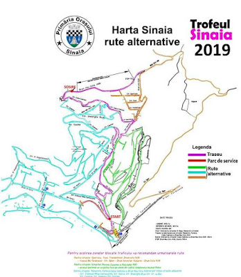 sinaia restrictii rute alternative circulatia viteza in coasta 2019