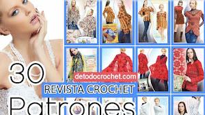 30 patrones crochet de ropa femenina