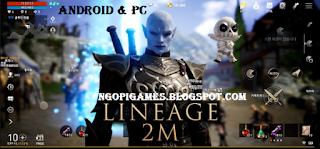 Lineage 2M For Android And PC (Emulator Purple)