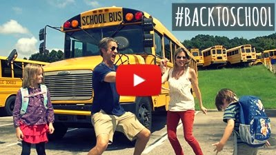 Watch the Holderness family turn the Back to School blues into a hilarious parody as their kids go back to school via geniushowto.blogspot.com back to school videos