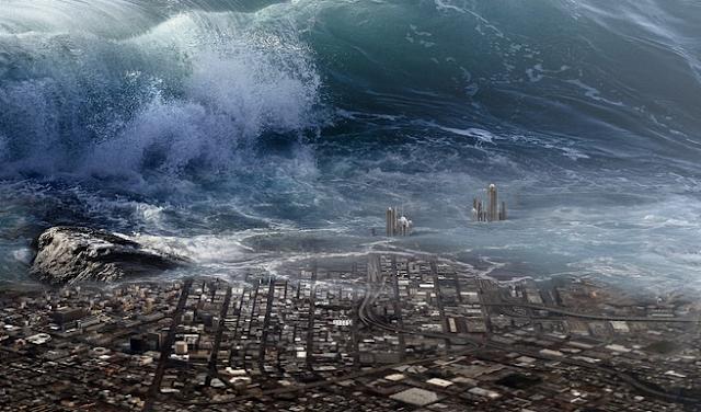 tsunami dahsyat di belahan bumi