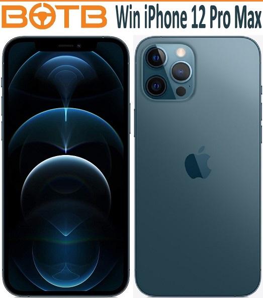 احصل الان على فرصه ربح iPhone 12 Pro Max مع BOTB