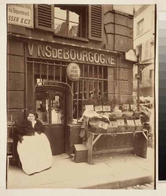 Au Port Salut - Cabaret Rue des Fosses St. Jacques (5e). 1903