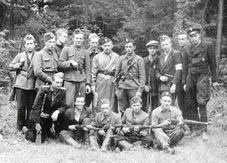 I kompania oddziału leśnego Obwodu Sambor AK