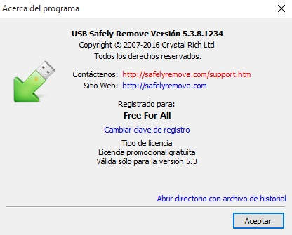 USB Safely Remove 5.3.8 Full Español