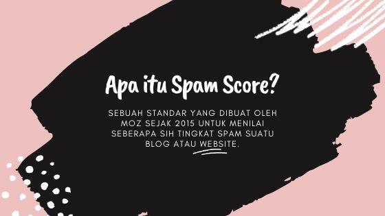 apa itu spam score
