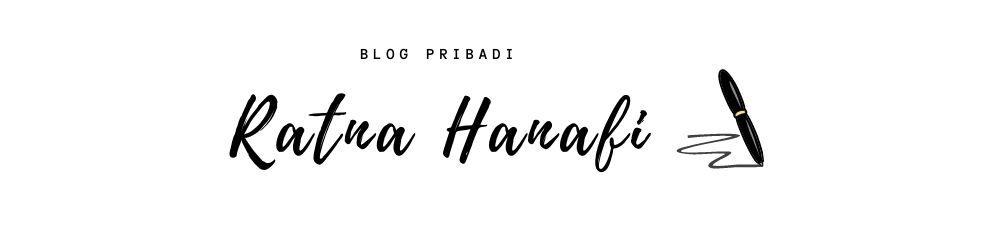Blog Pribadi Ratna Hanafi