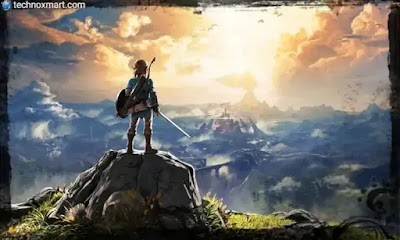 legend of zelfda breath of the wild, best video games of decades to play