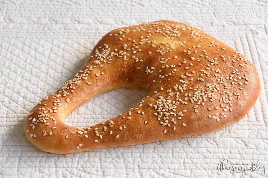 Ka'ak - libański chleb uliczny.