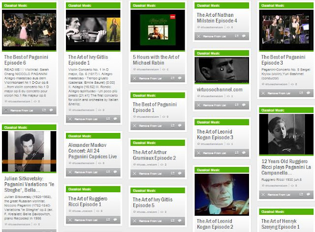 The Best of Paganini on StumbleUpon