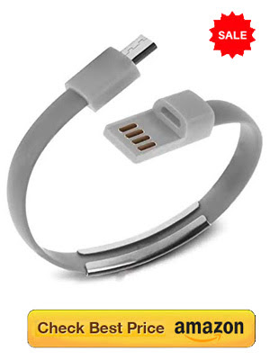 Mini Charging cable bracelet