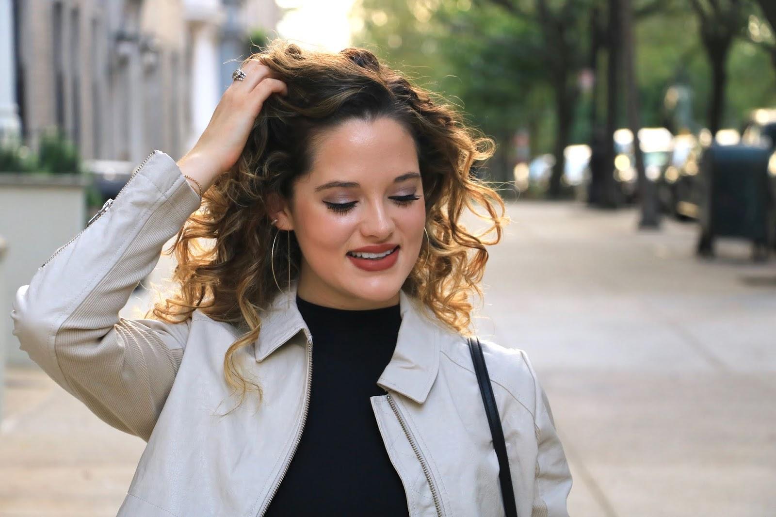 Nyc fashion blogger Kathleen Harper's Fall 2019 beauty look.