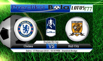 PREDIKSI  SKOR  Chelsea vs Hull City FC  17 Februari 2018