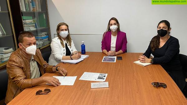 El Ayuntamiento de Fuencaliente acuerda con Medio Ambiente las medidas de protección del Volcán Teneguía