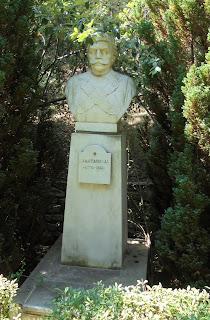 προτομή του Ιωάννη Σαλταπήδα στο Μουσείο Μακεδονικού Αγώνα του Μπούρινου