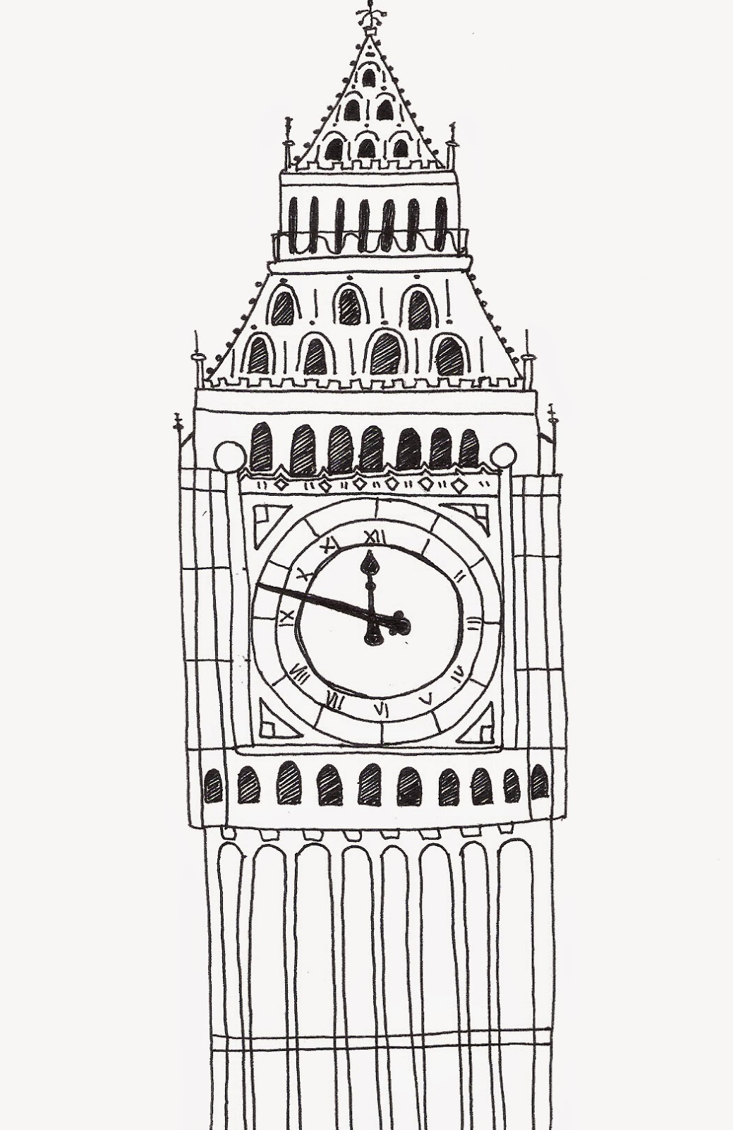 Chocolitier Day 81 Drawing Big Ben With Leigh Hobbs