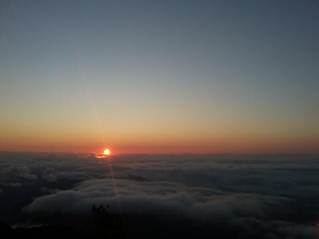 Sunrise in Mt. Amuyao